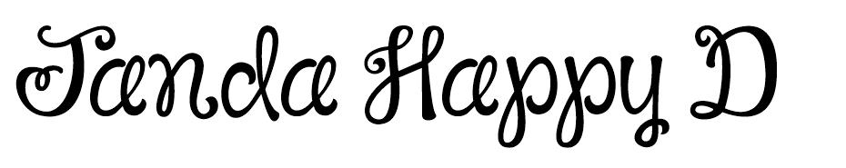 Janda Happy Day font