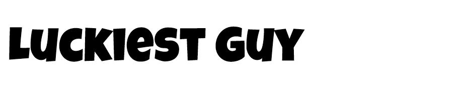 Luckiest Guy Font font