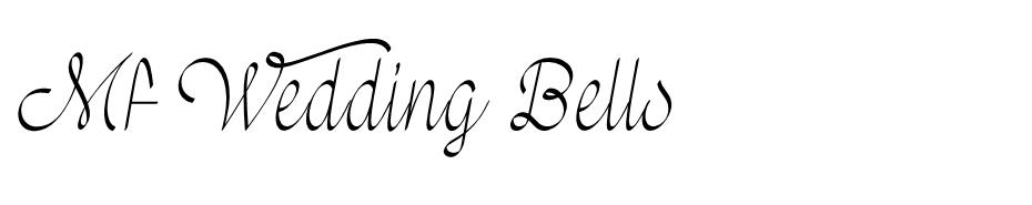 Mf Wedding Bells font