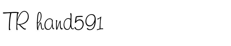 TR Freehand591 font