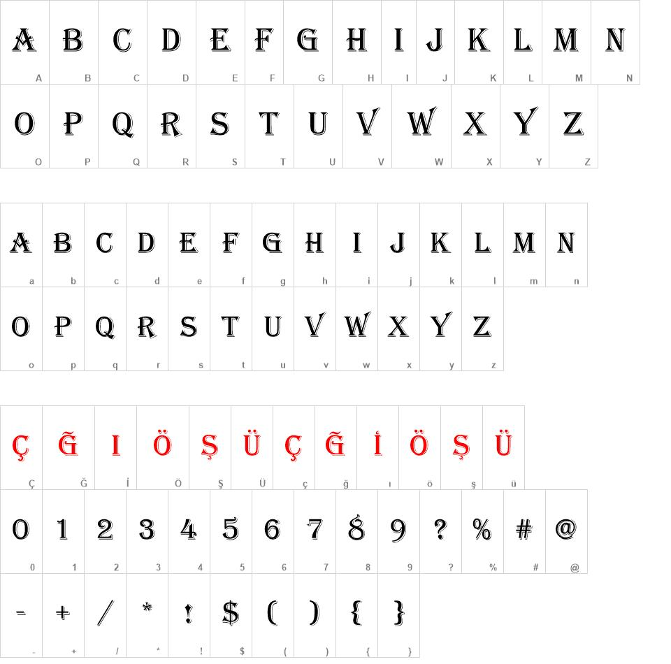 ALGERİAN font - ALGERİAN font download