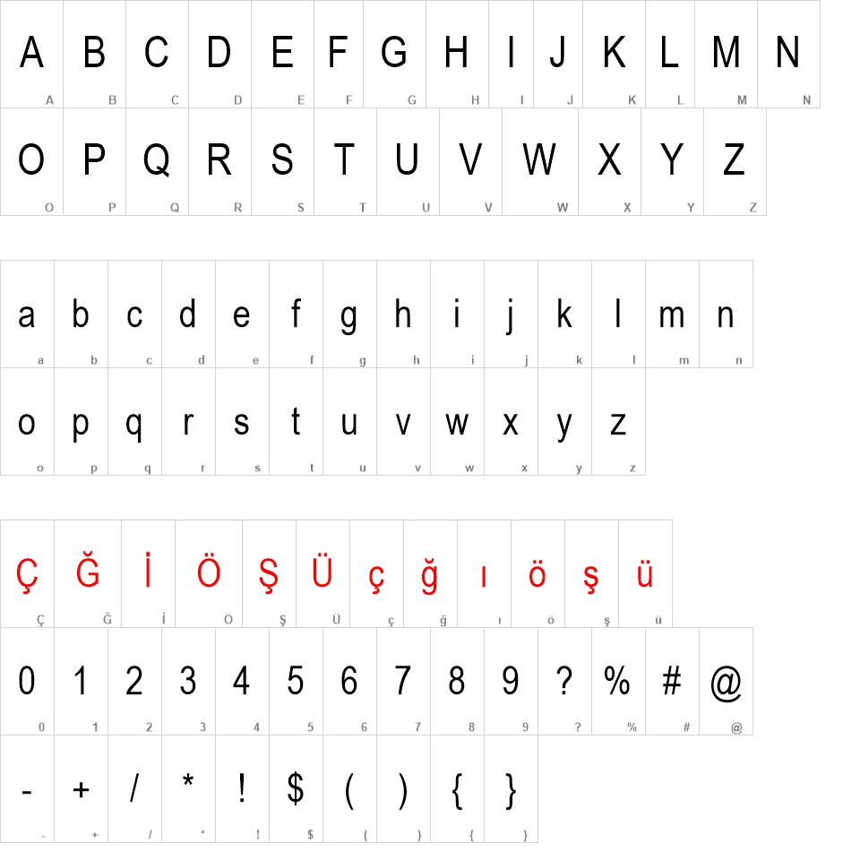 Arial Narrow font - Arial Narrow font download