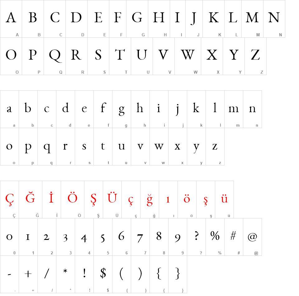 EB Garamond Font Ailesi font - EB Garamond Font Ailesi font download