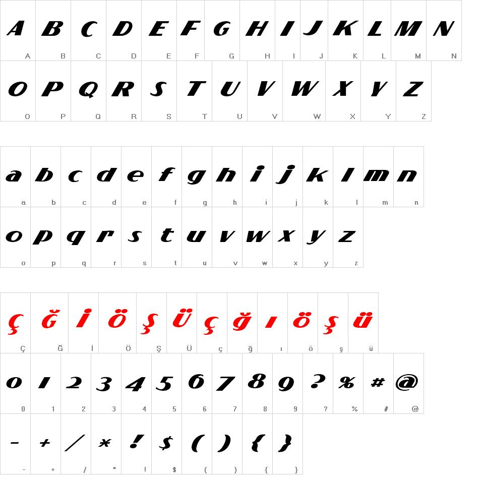 Flighter font