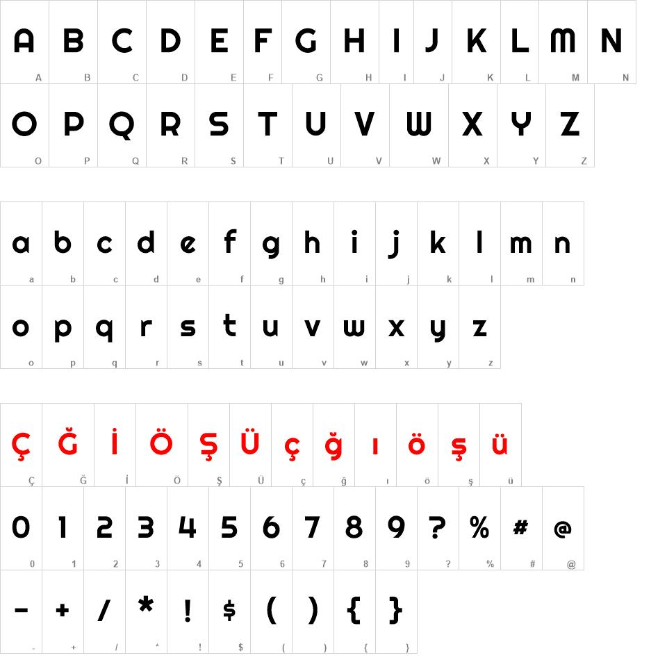 Righteous font - Righteous font download