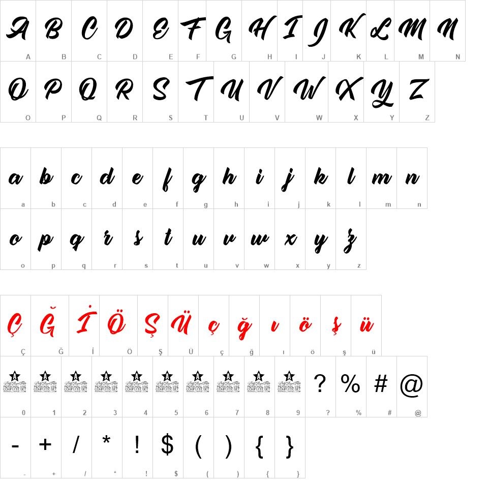 Single Case font