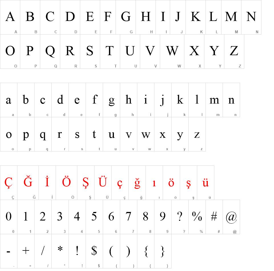 Times New Roman Font Download