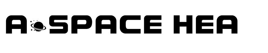 A*SPACE HEAVY Demo font