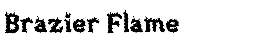Brazier Flame font
