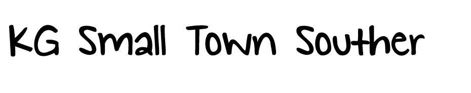 KG Small Town Southern Girl Font font