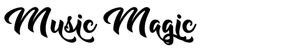 Music Magic font