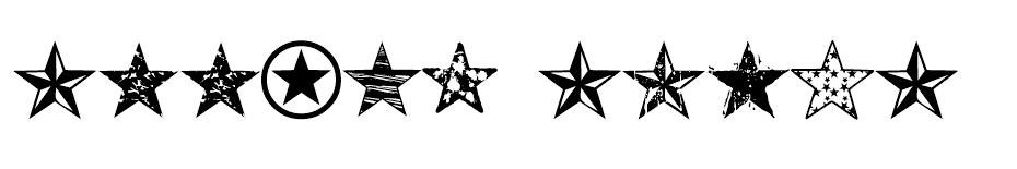 Seeing Stars font