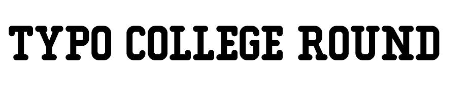 Typo College Font Family font