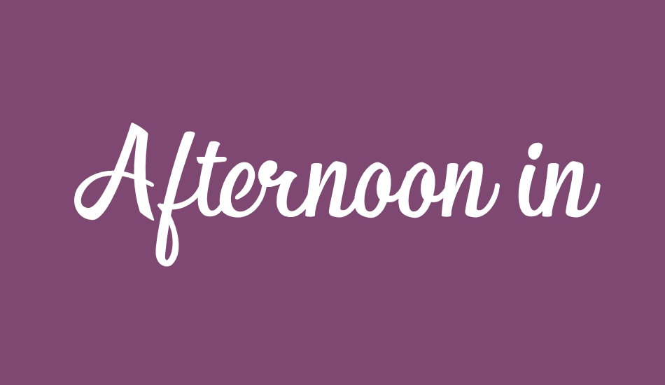 afternoon-in-stereo-personal-us font big