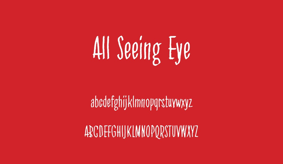 all-seeing-eye font