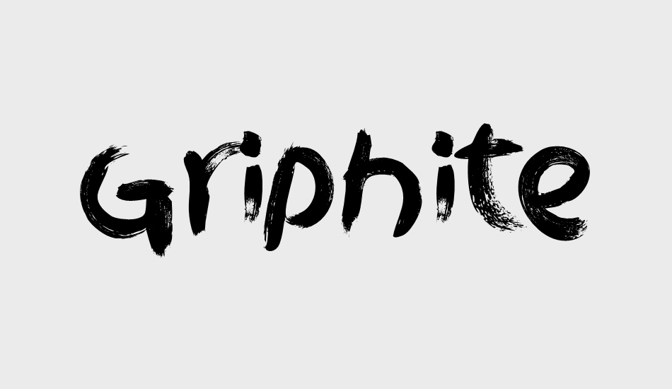 griphite-personal-use font big