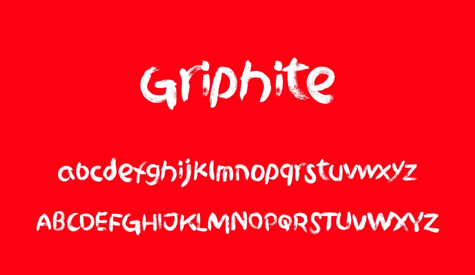 griphite-personal-use font