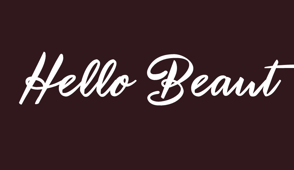 hello-beauty-personal-use font big