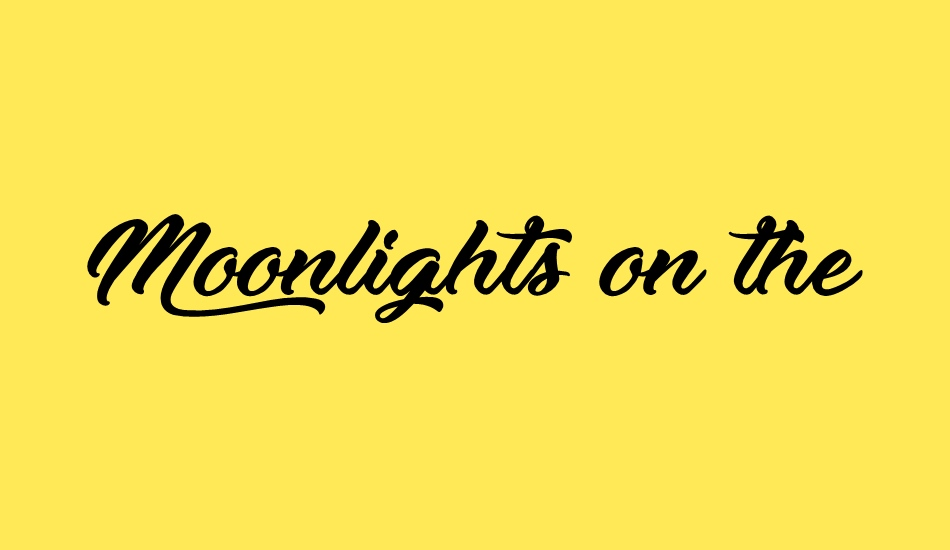 moonlights-on-the-beach font big