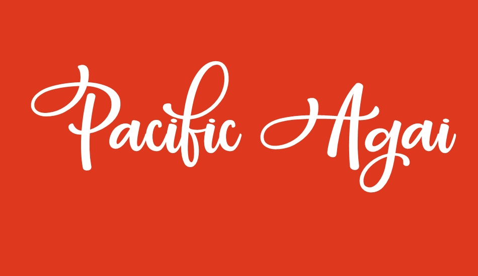 pacific-again font big