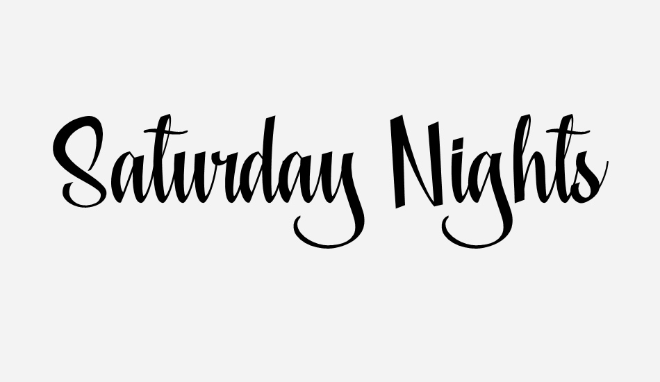 saturday-nights-personal-use font big