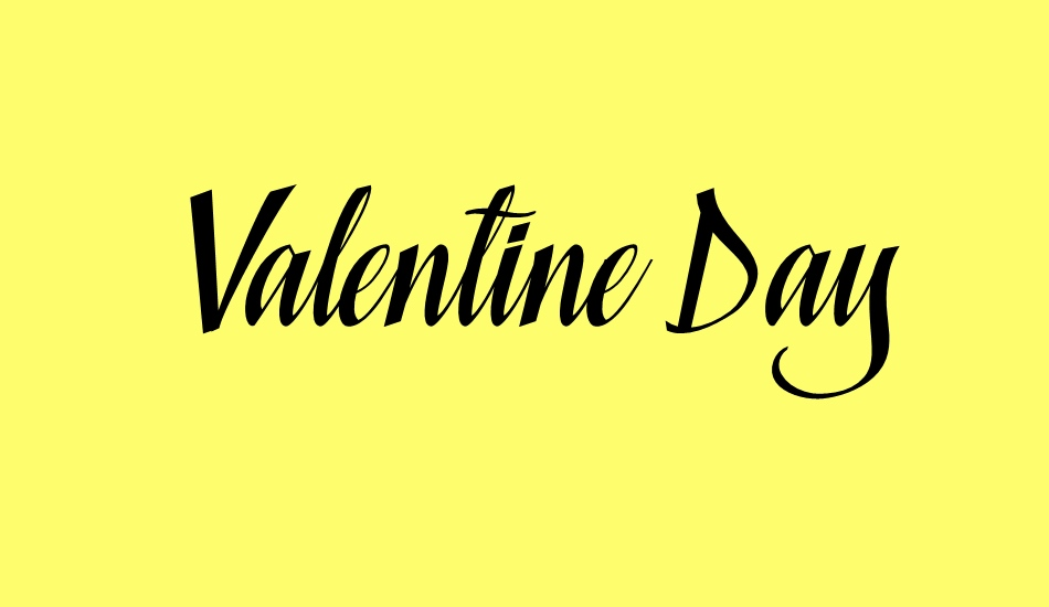 valentine-day-personal-use font big