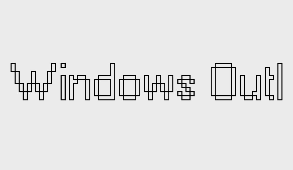 windows-outline font big