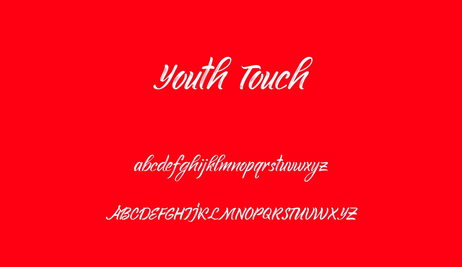 youth-touch-demo font